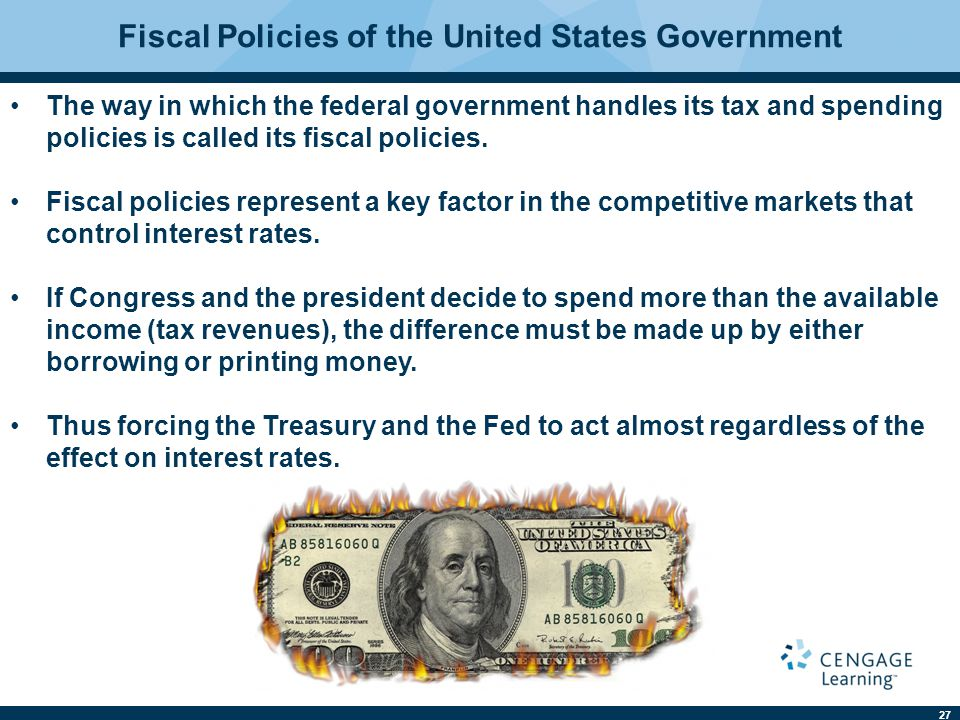 Fiscal Policies of the United States Government