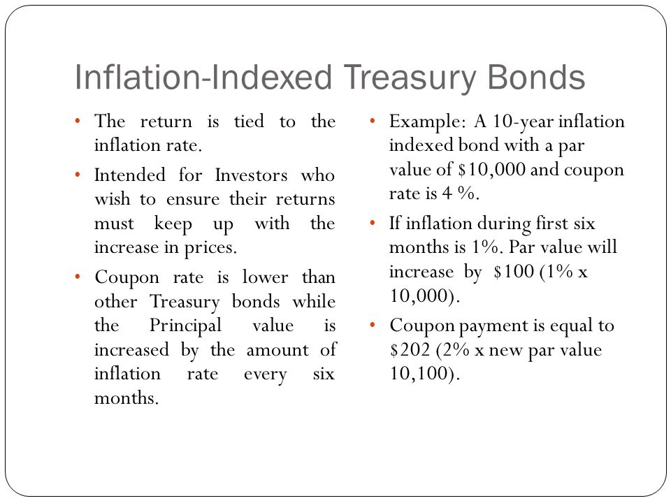 Inflation-Indexed Treasury Bonds
