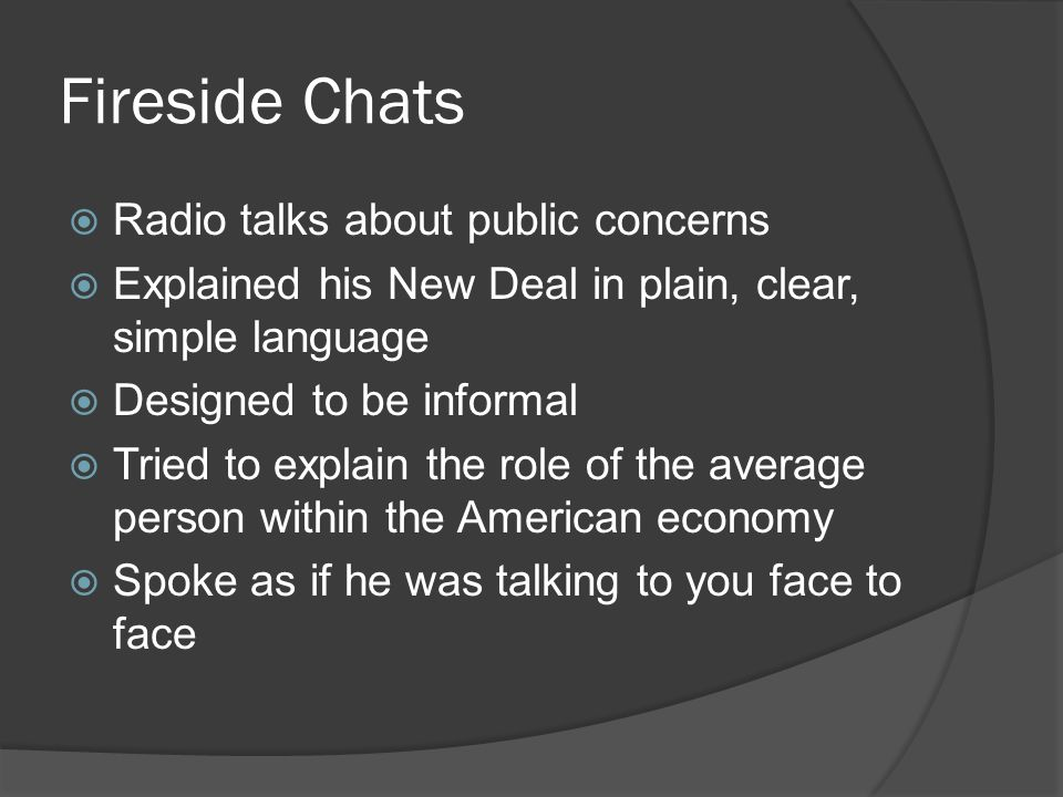 Fireside Chats Radio talks about public concerns