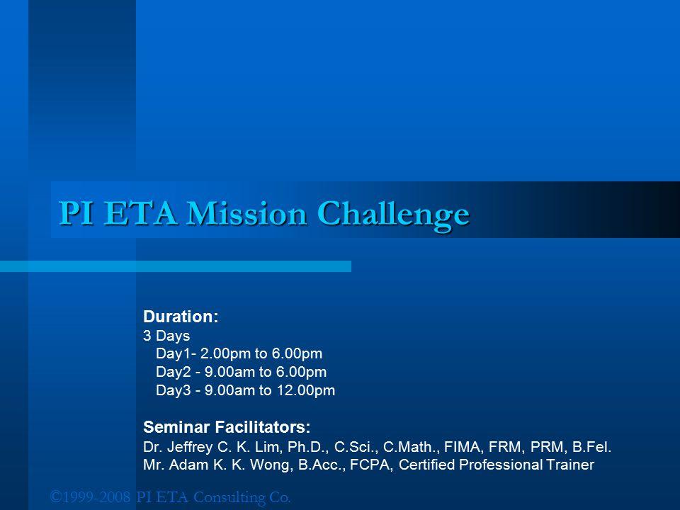 PI ETA Mission Challenge