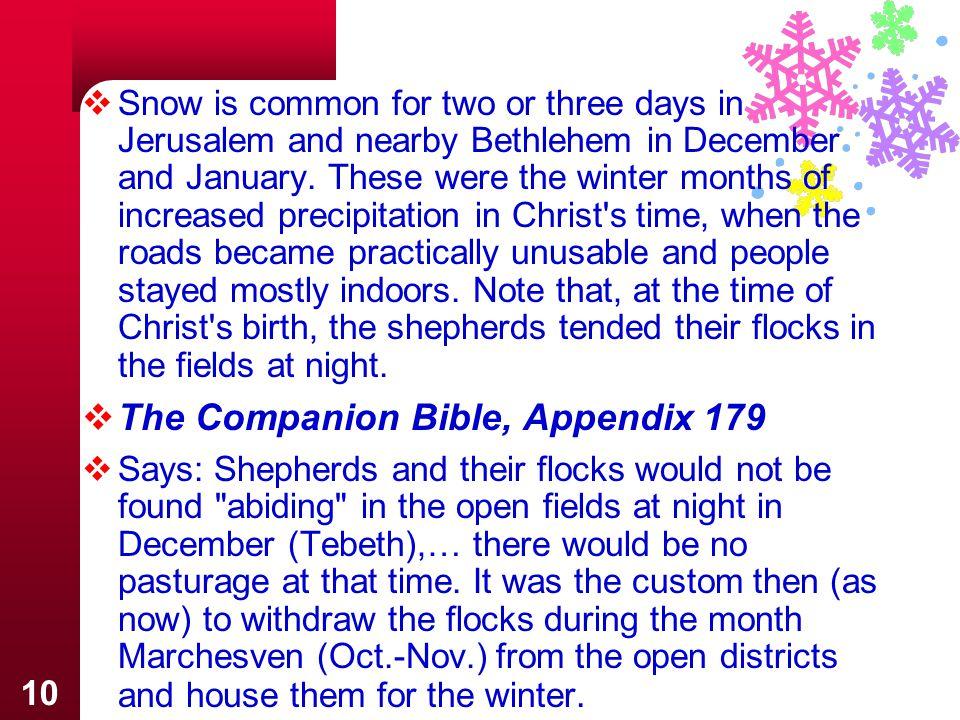 The Companion Bible, Appendix 179
