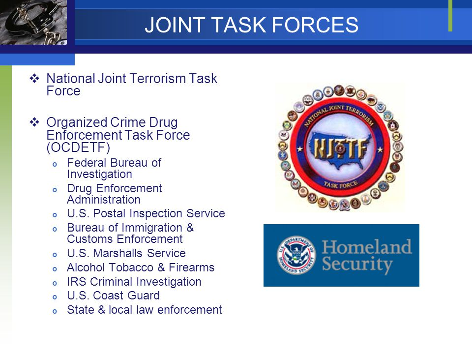 JOINT TASK FORCES National Joint Terrorism Task Force