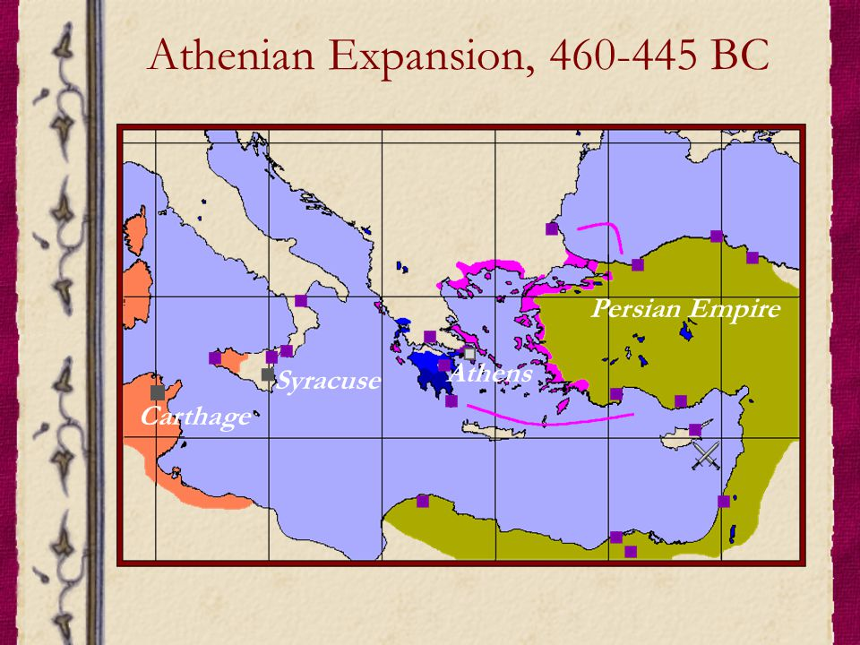 Athenian Expansion, 460-445 BC
