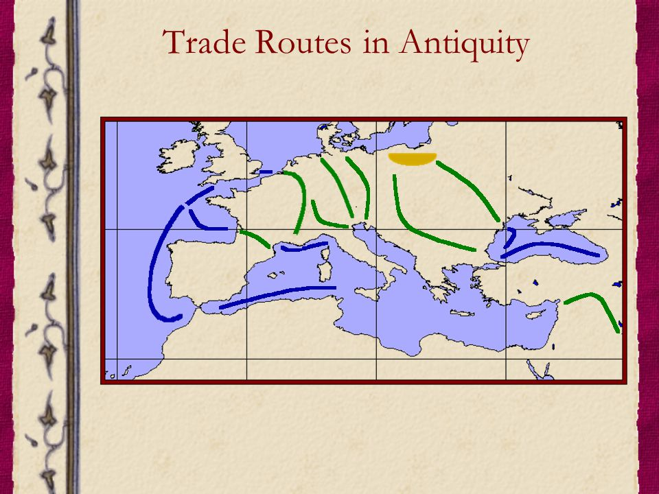 Trade Routes in Antiquity