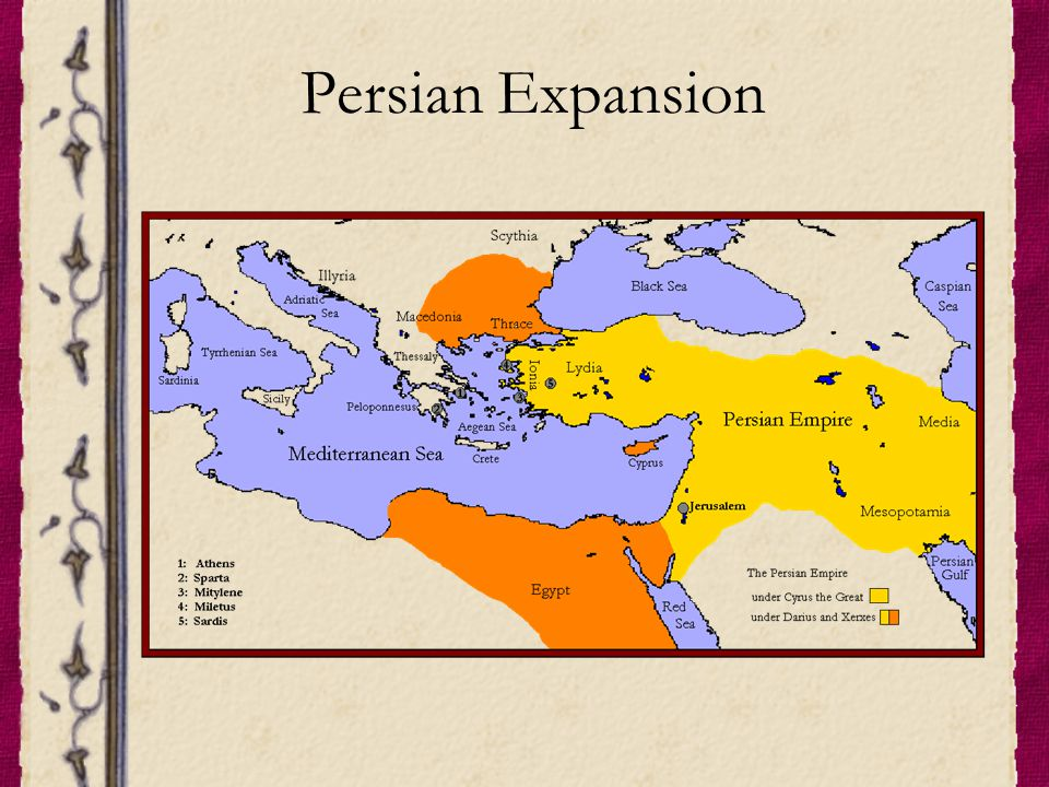 Persian Expansion
