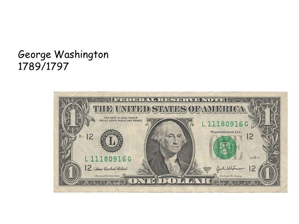 George Washington 1789/1797