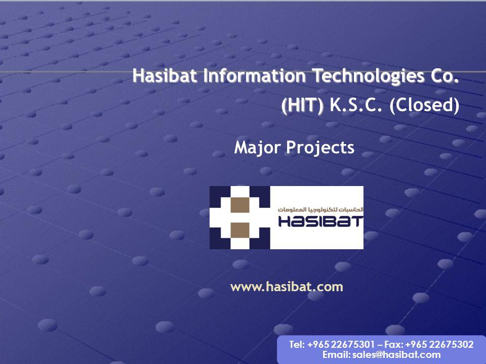 Hasibat Information Technologies Co. (HIT) K.S.C. (Closed)