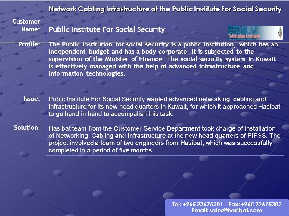 Public Institute For Social Security