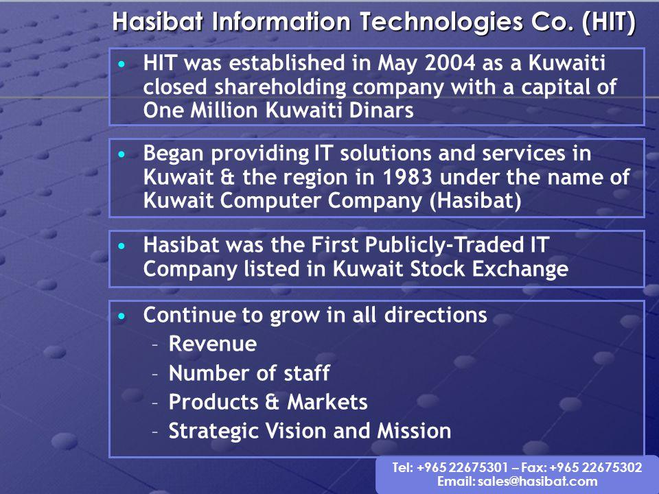 Hasibat Information Technologies Co. (HIT)