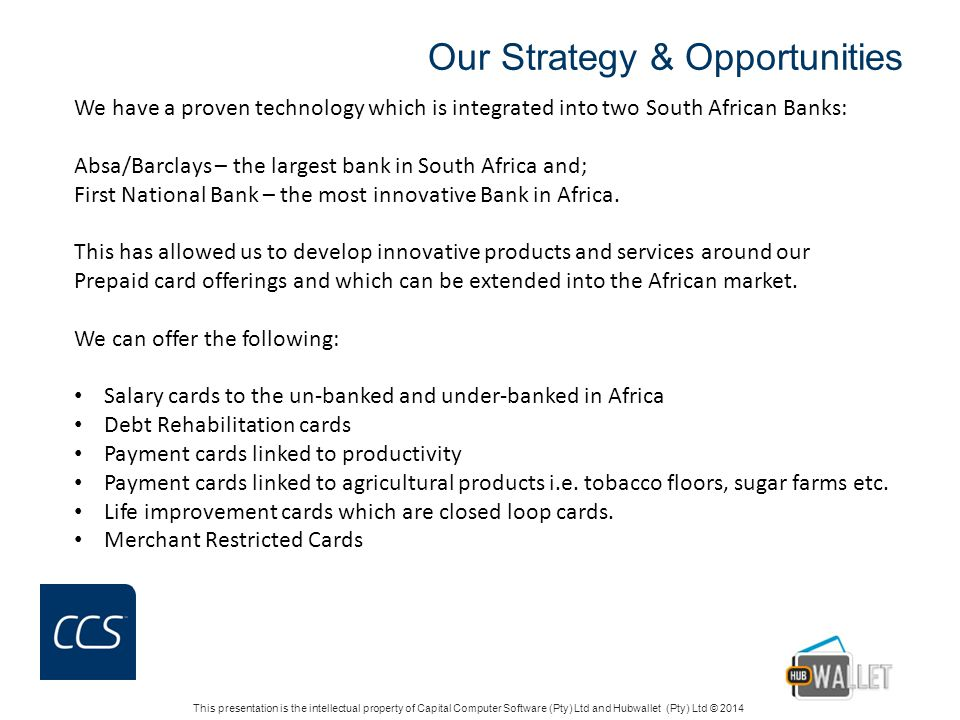 Our Strategy & Opportunities