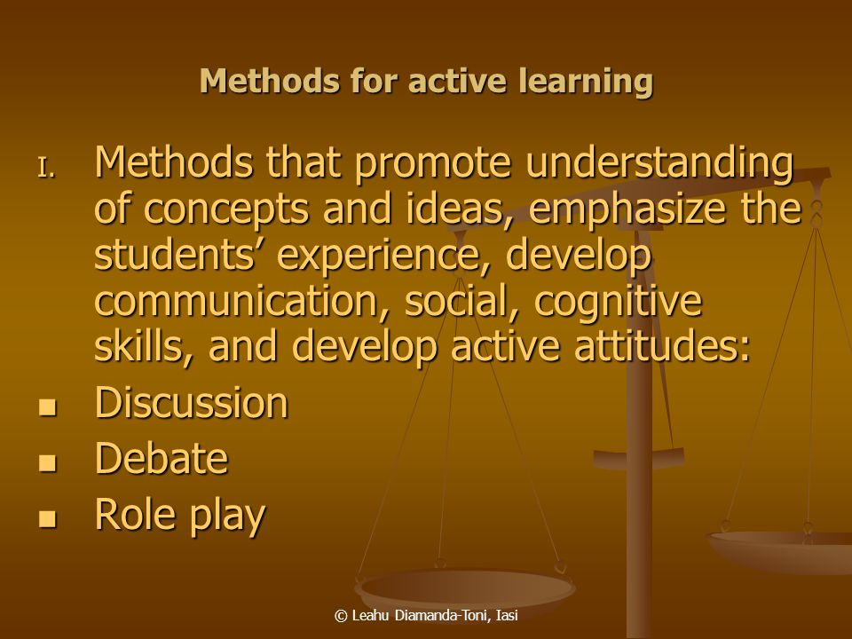 Methods for active learning