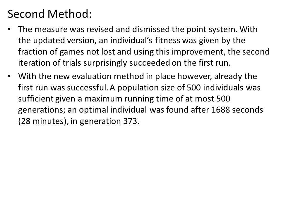Second Method: