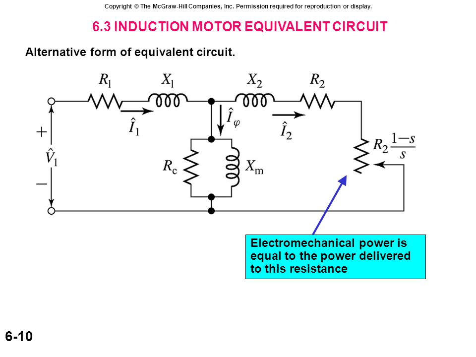 6.4 ANALYSIS OF THE EQUIVALENT CIRCUIT