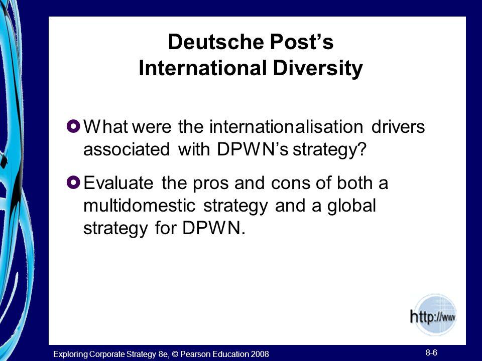 Deutsche Post's International Diversity