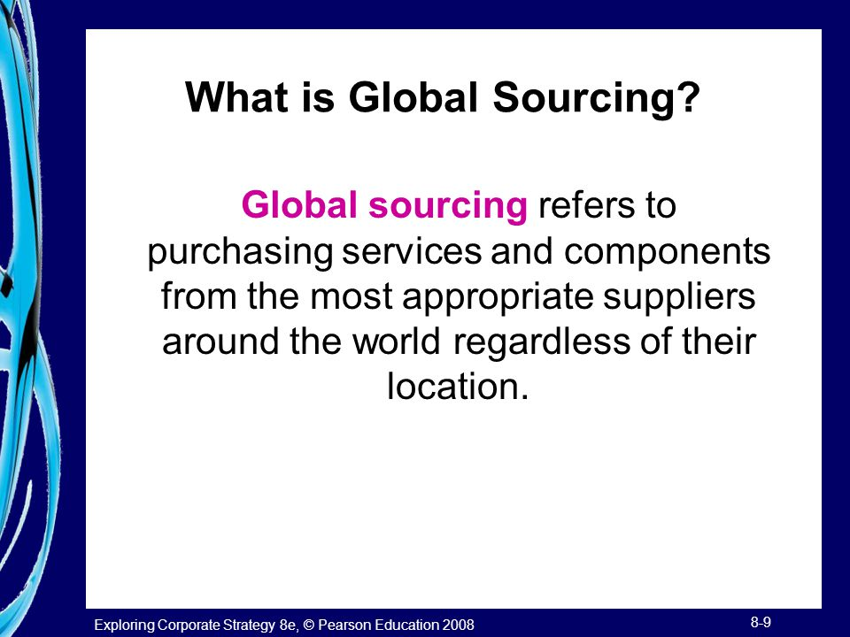 What is Global Sourcing