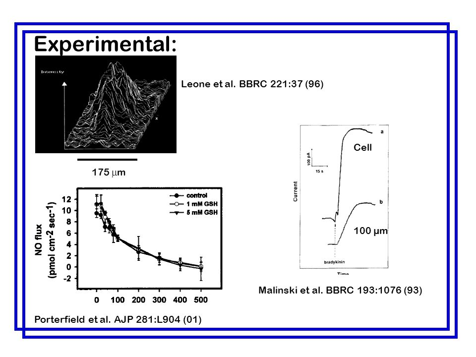 Experimental: Leone et al. BBRC 221:37 (96) Cell 175 mm 100 µm