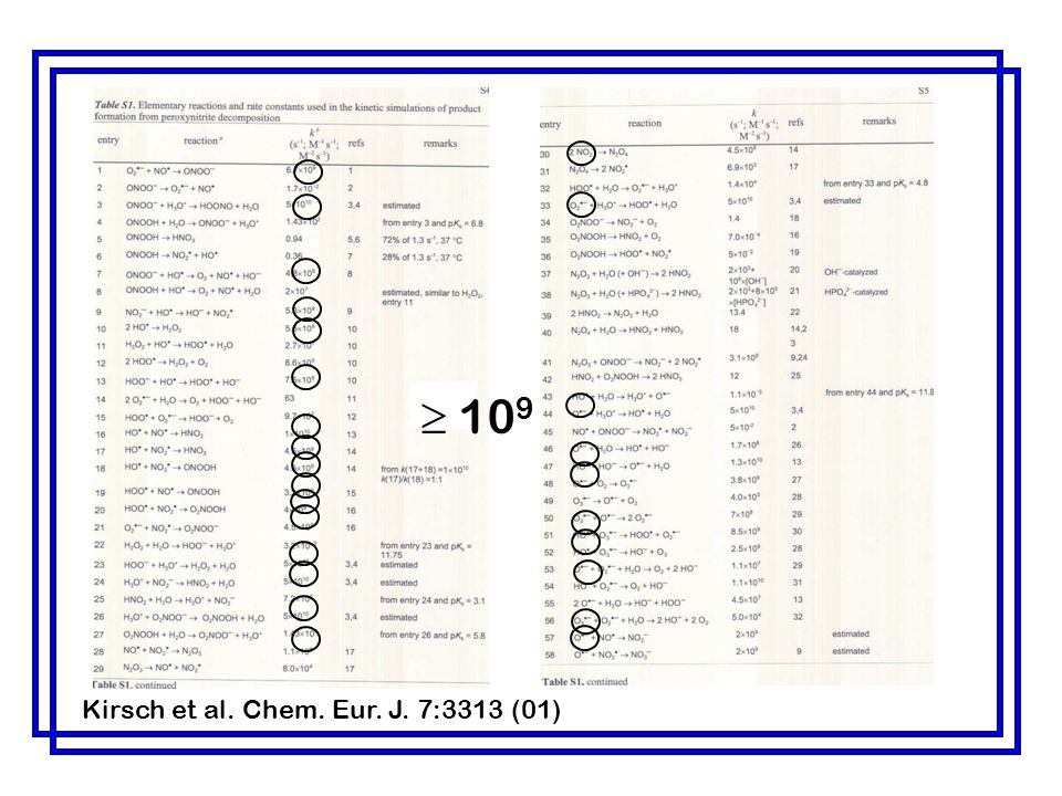 109 Kirsch et al. Chem. Eur. J. 7:3313 (01)