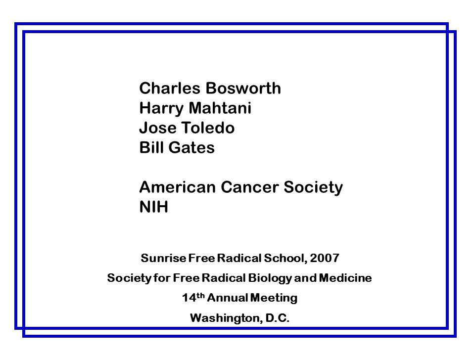 American Cancer Society NIH