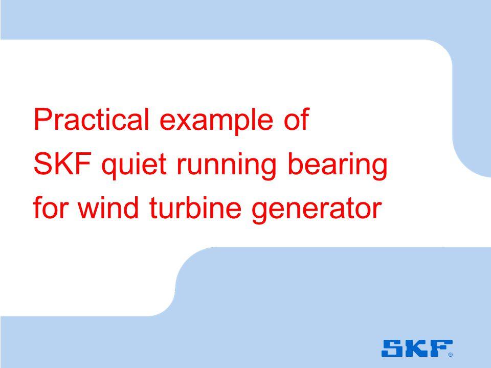 Noise mapping in wind turbine generator