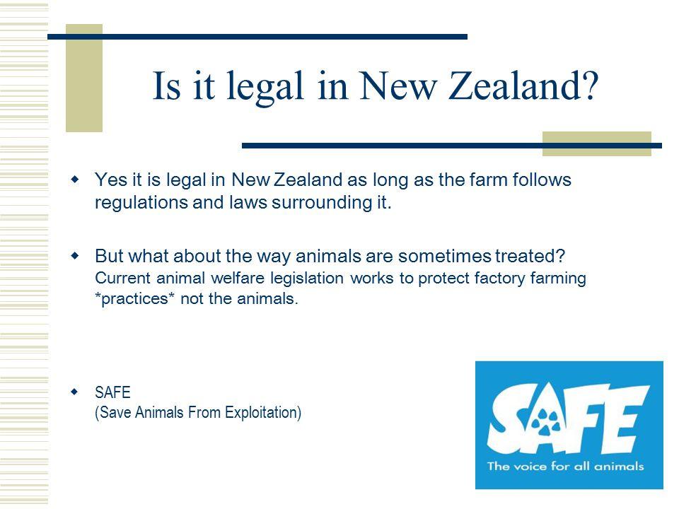 Is it legal in New Zealand