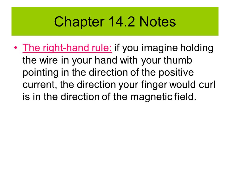 Chapter 14.2 Notes