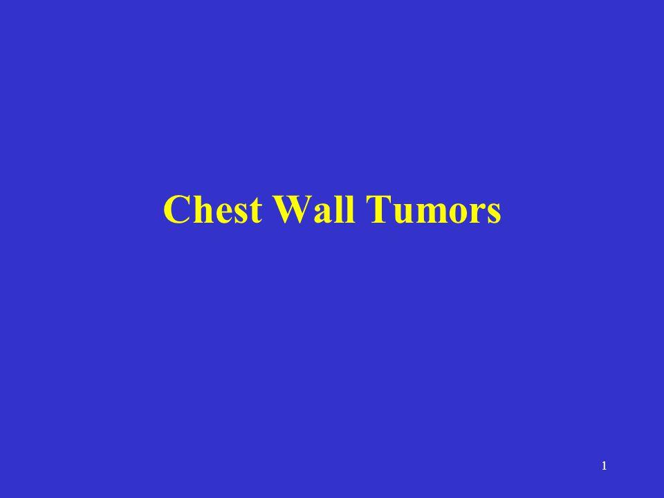 Chest Wall Tumors
