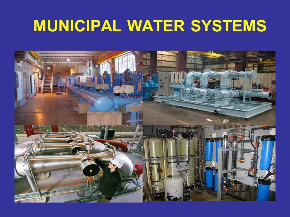 MUNICIPAL WATER SYSTEMS