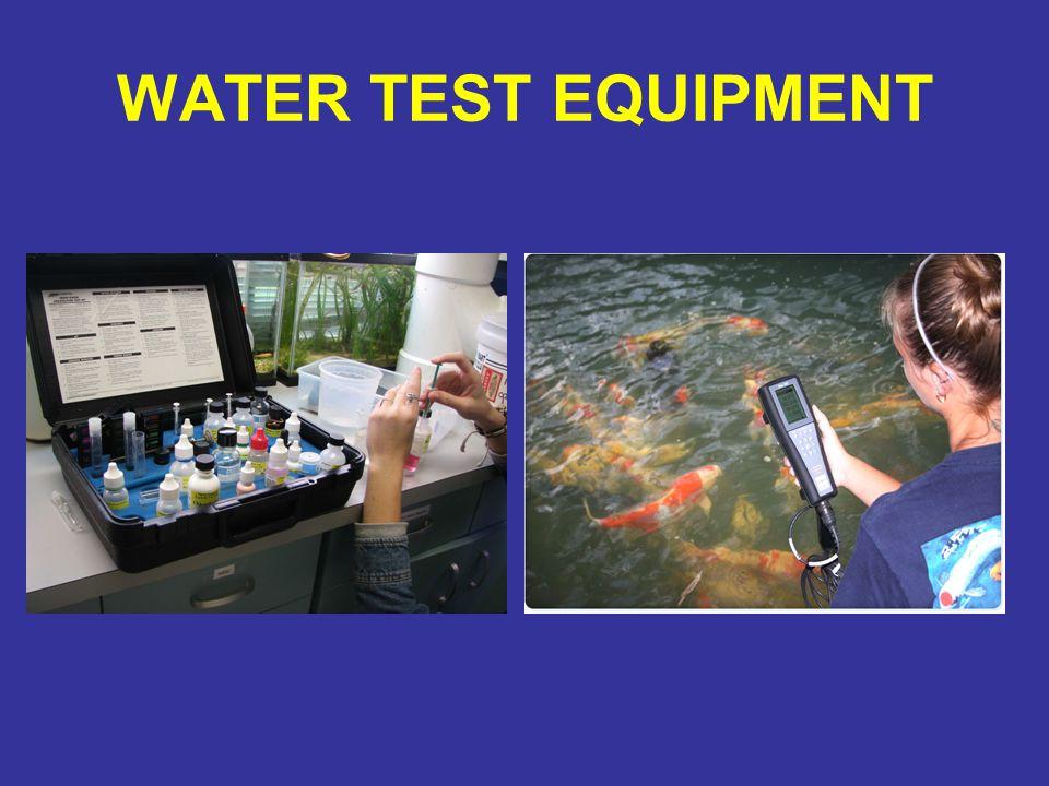 WATER TEST EQUIPMENT