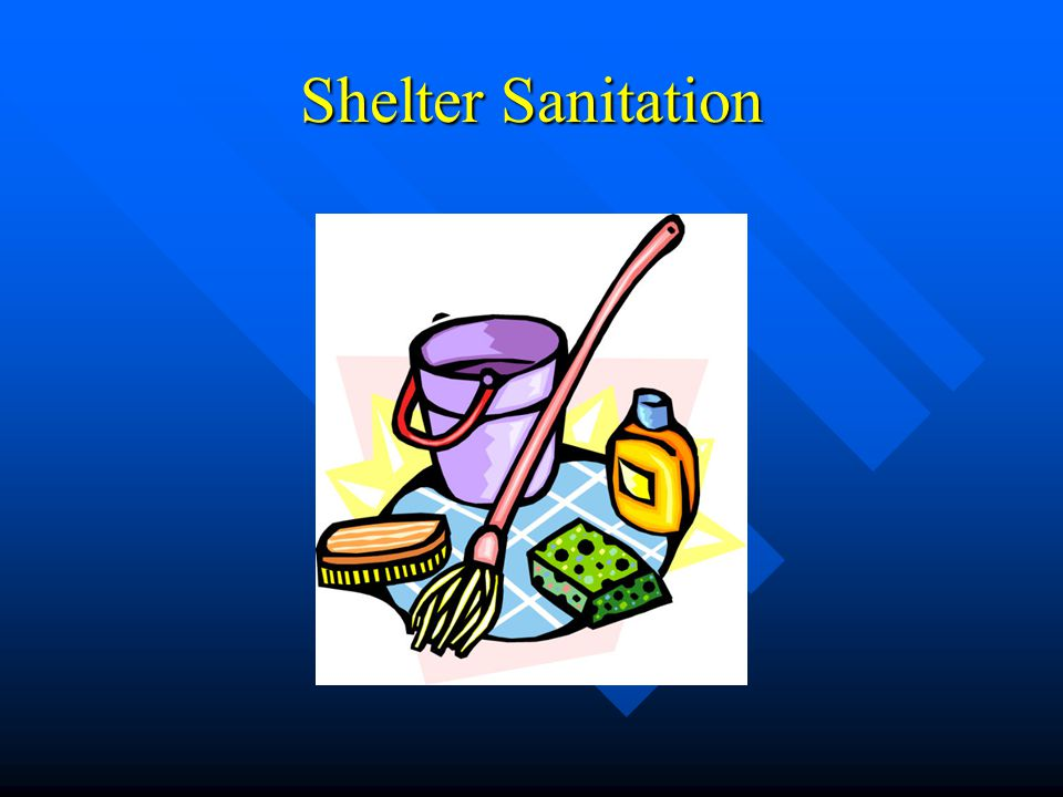 Shelter Sanitation