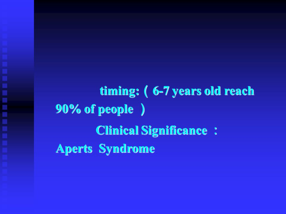 Clinical Significance : Aperts Syndrome