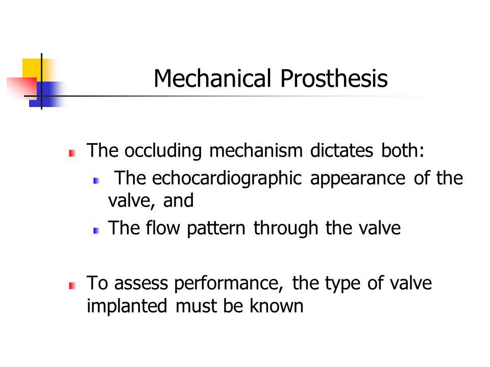 Mechanical Prosthesis