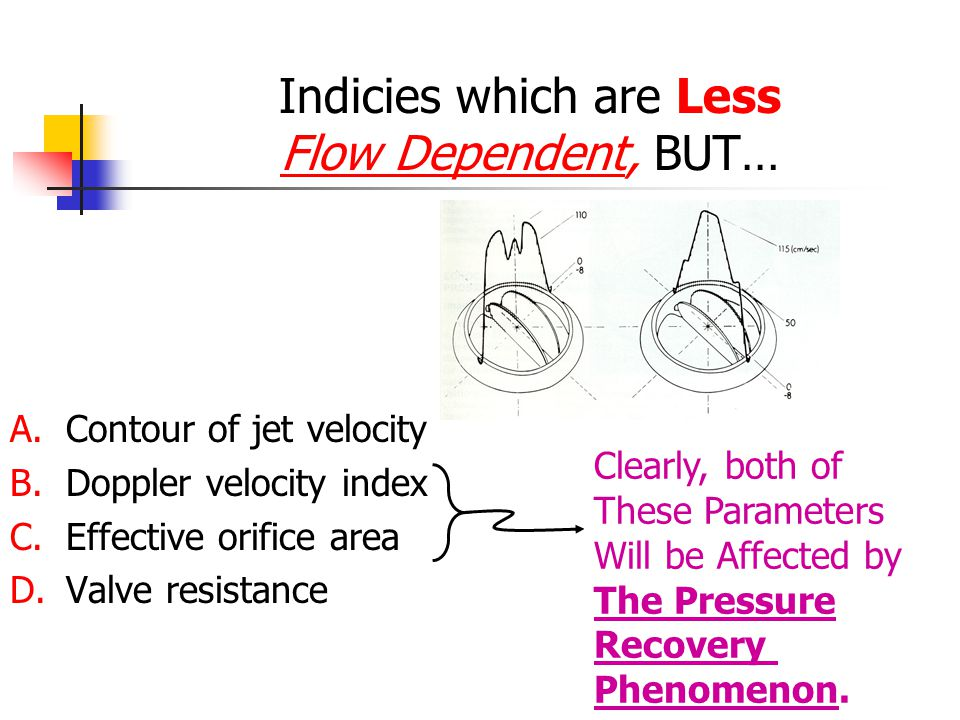 Indicies which are Less Flow Dependent, BUT…