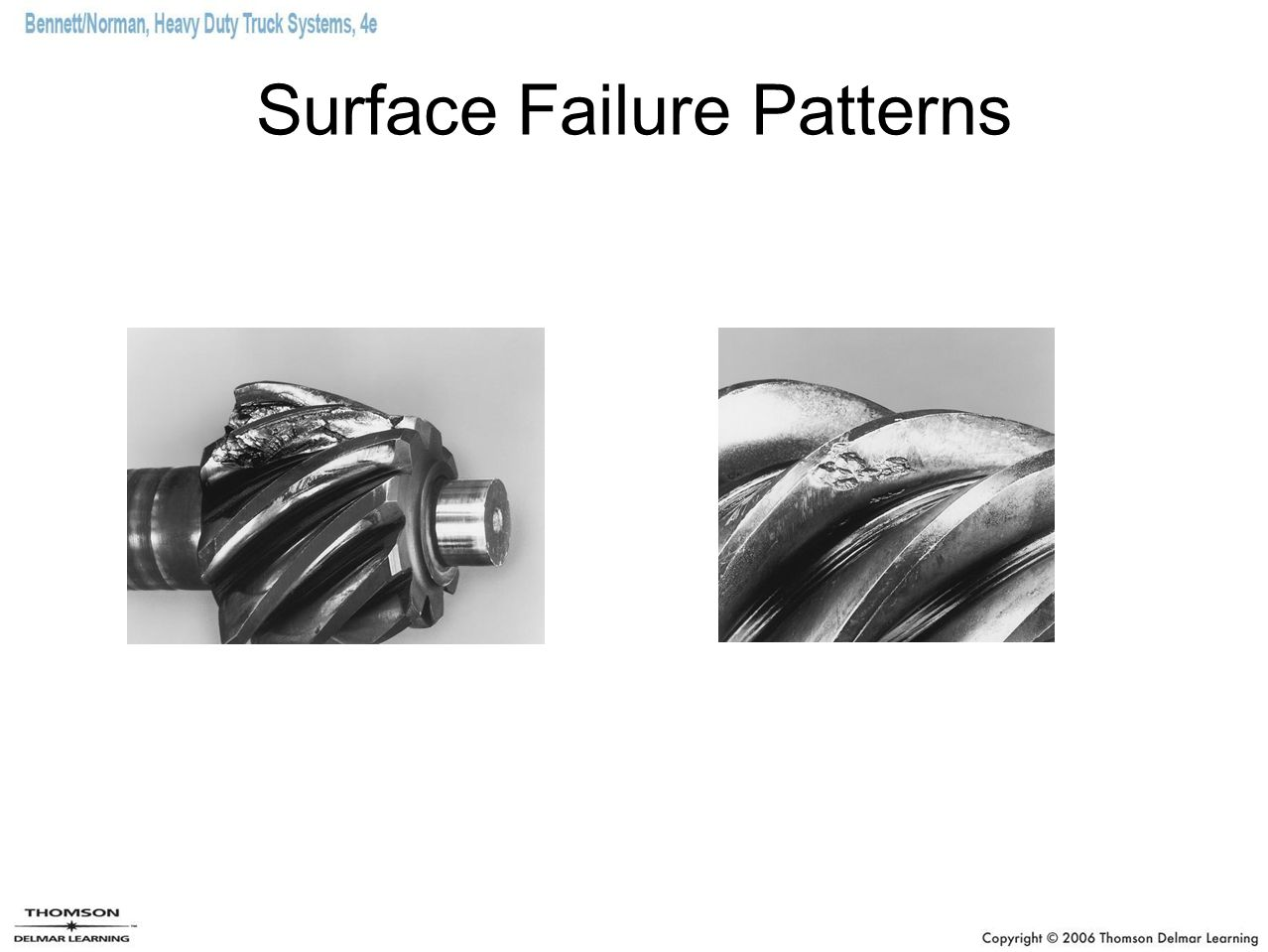 Surface Failure Patterns