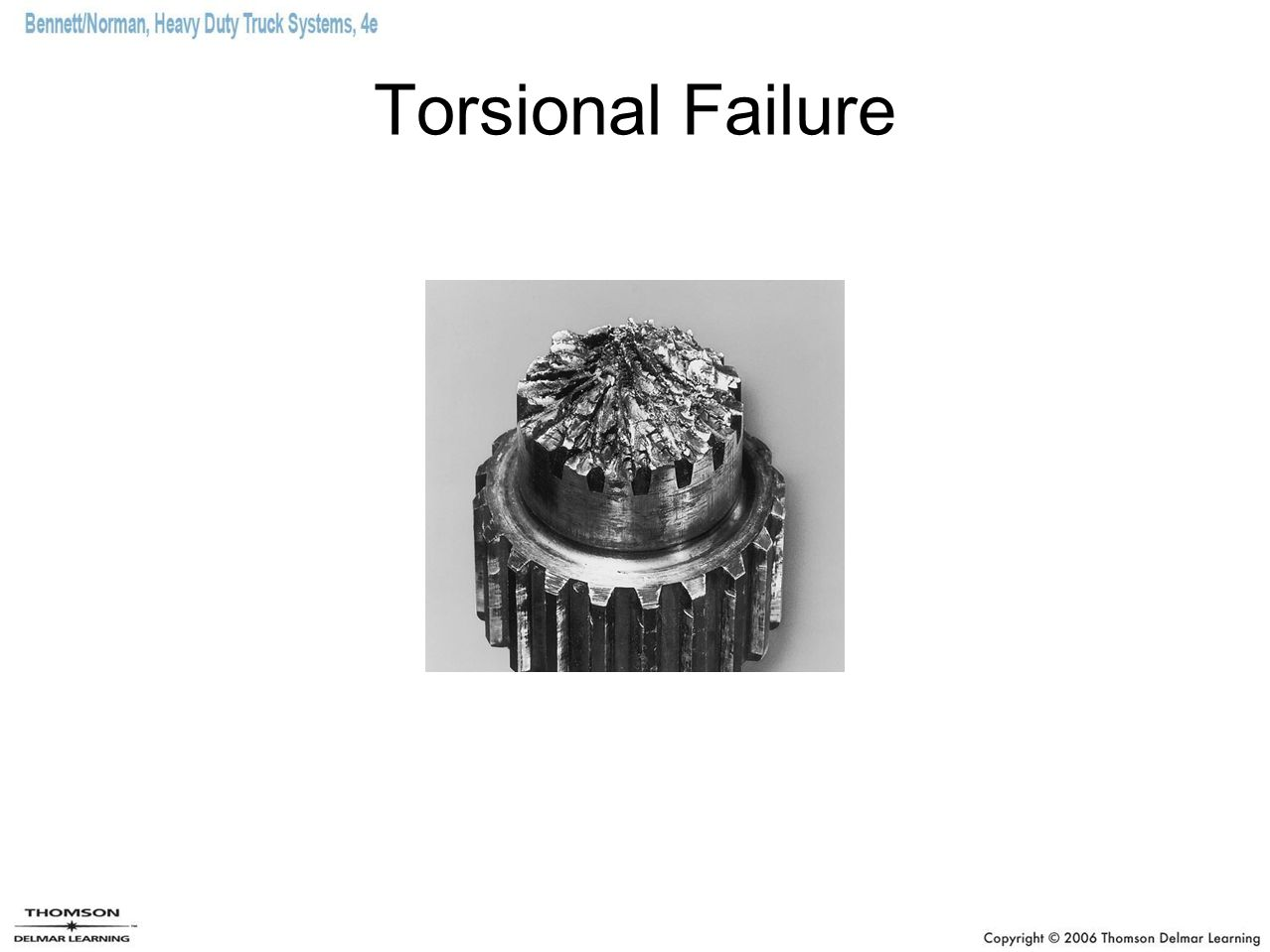 Torsional Failure