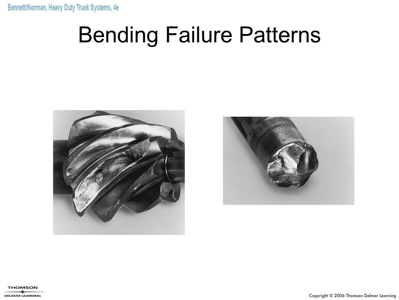 Bending Failure Patterns