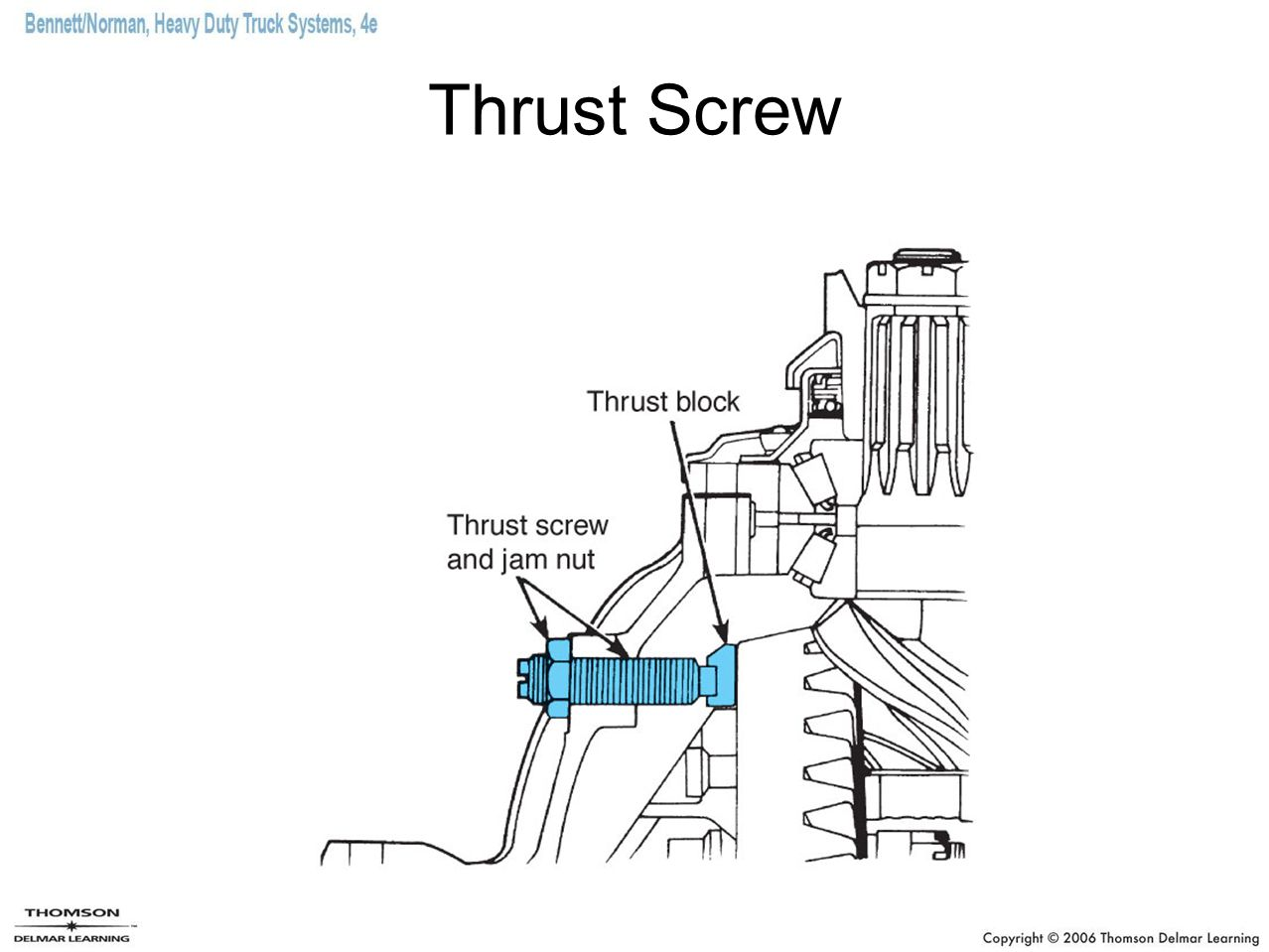Thrust Screw
