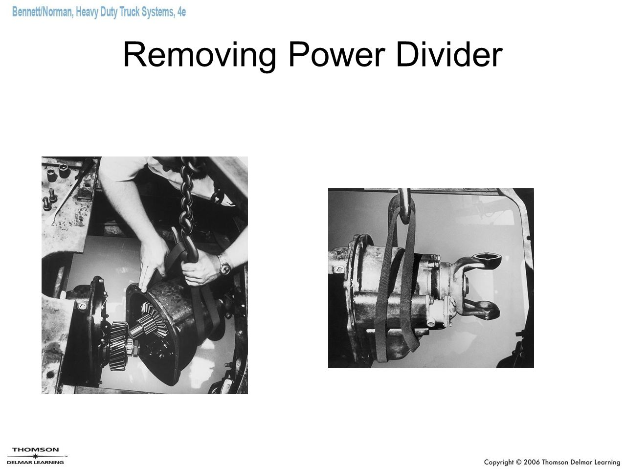 Removing Power Divider