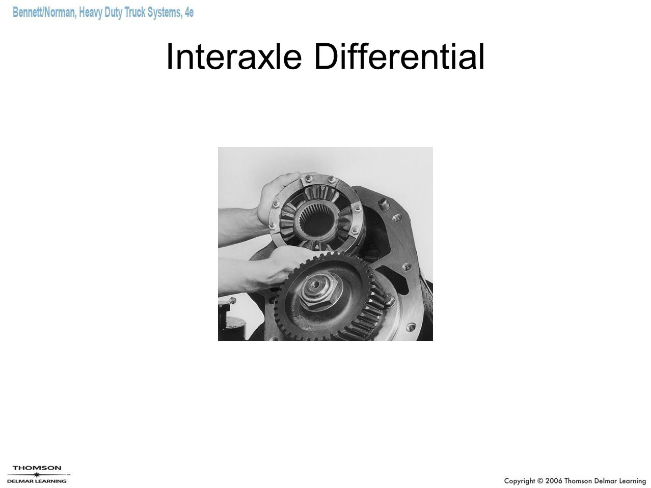 Interaxle Differential