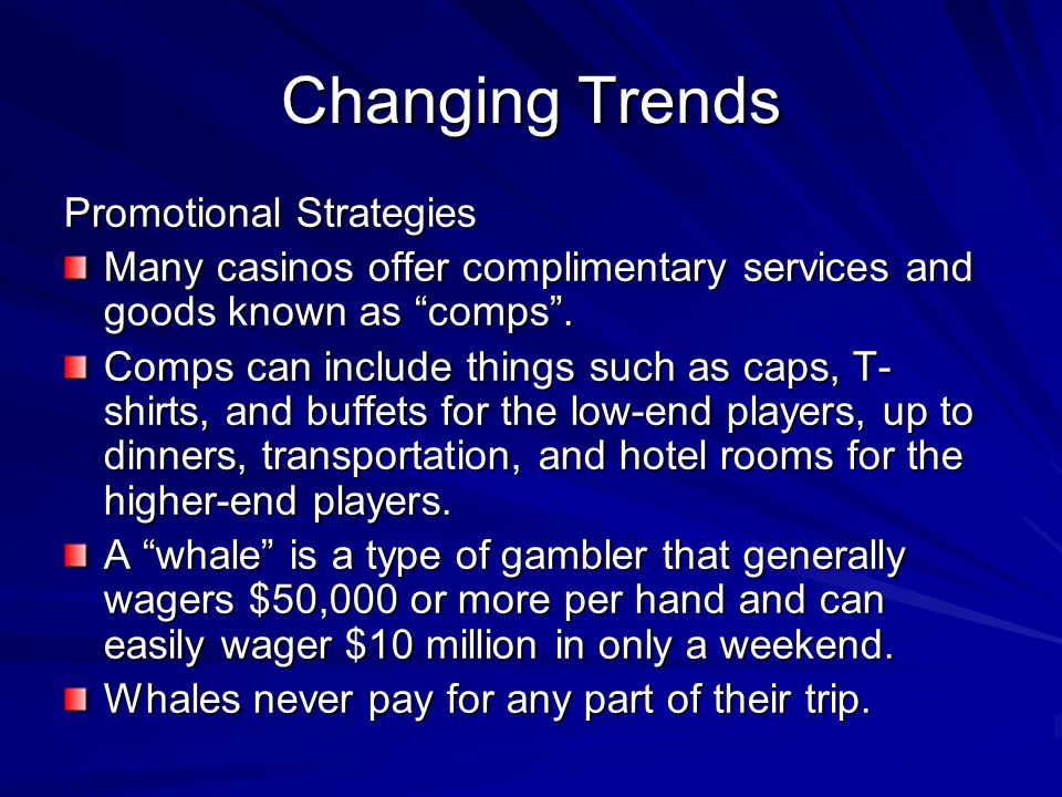 Changing Trends Promotional Strategies