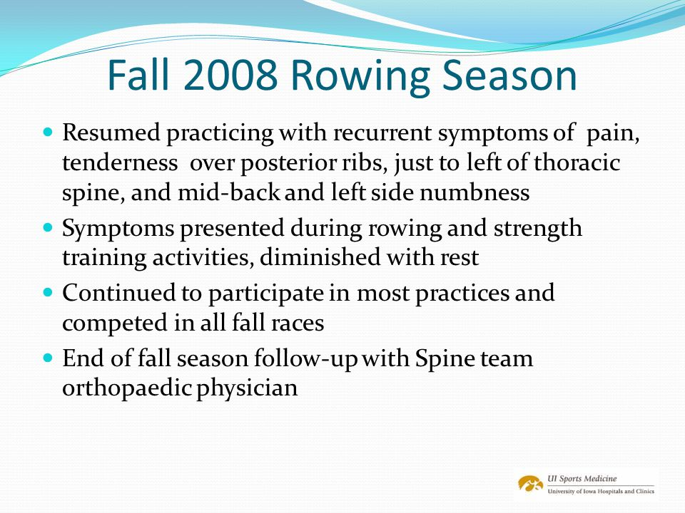 Fall 2008 Rowing Season
