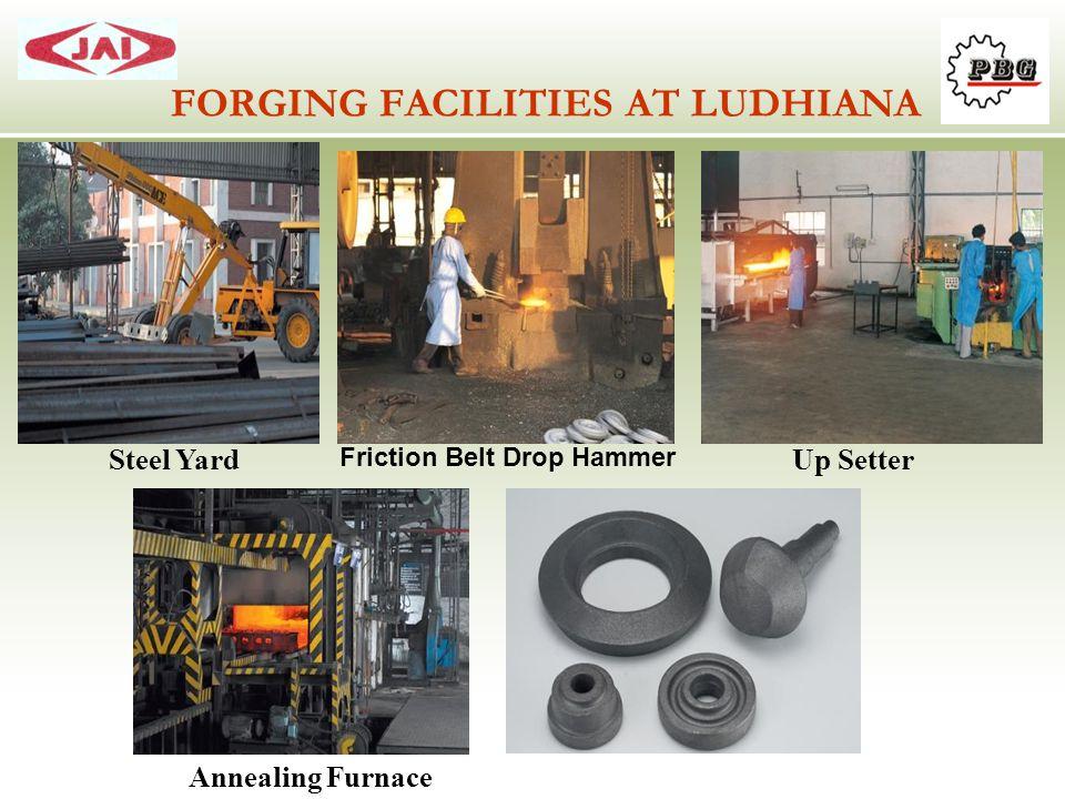 FORGING FACILITIES AT LUDHIANA