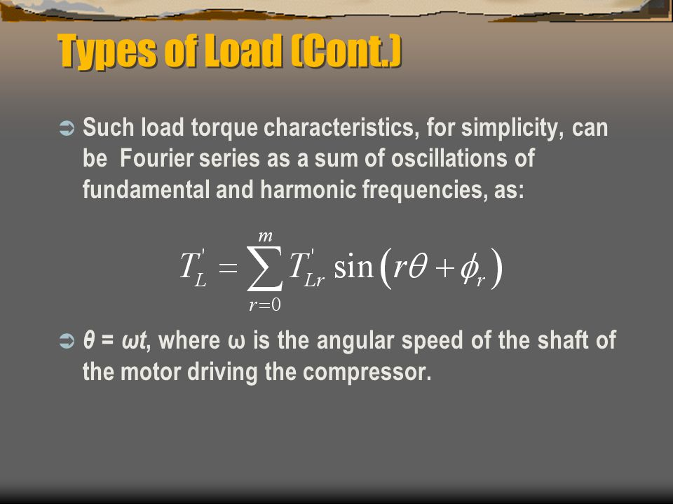 Types of Load (Cont.)