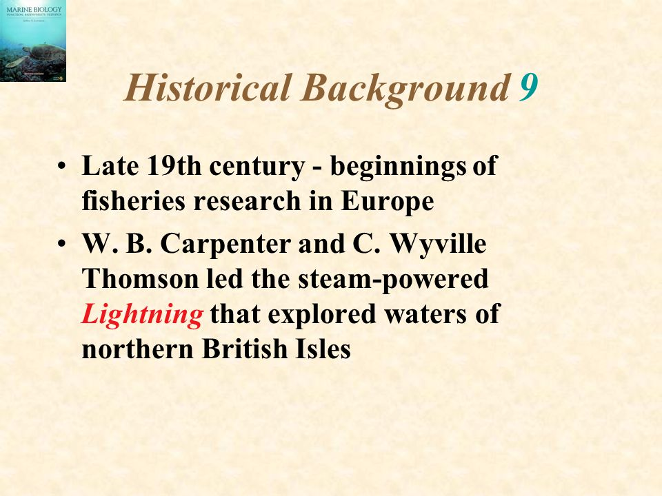 Historical Background 9