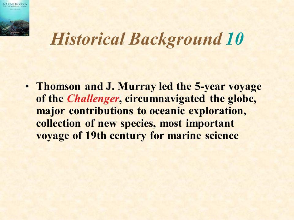Historical Background 10