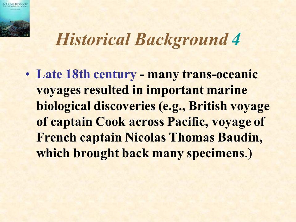 Historical Background 4