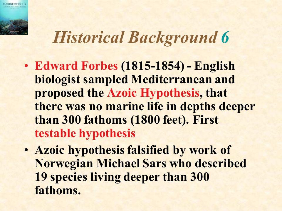 Historical Background 6