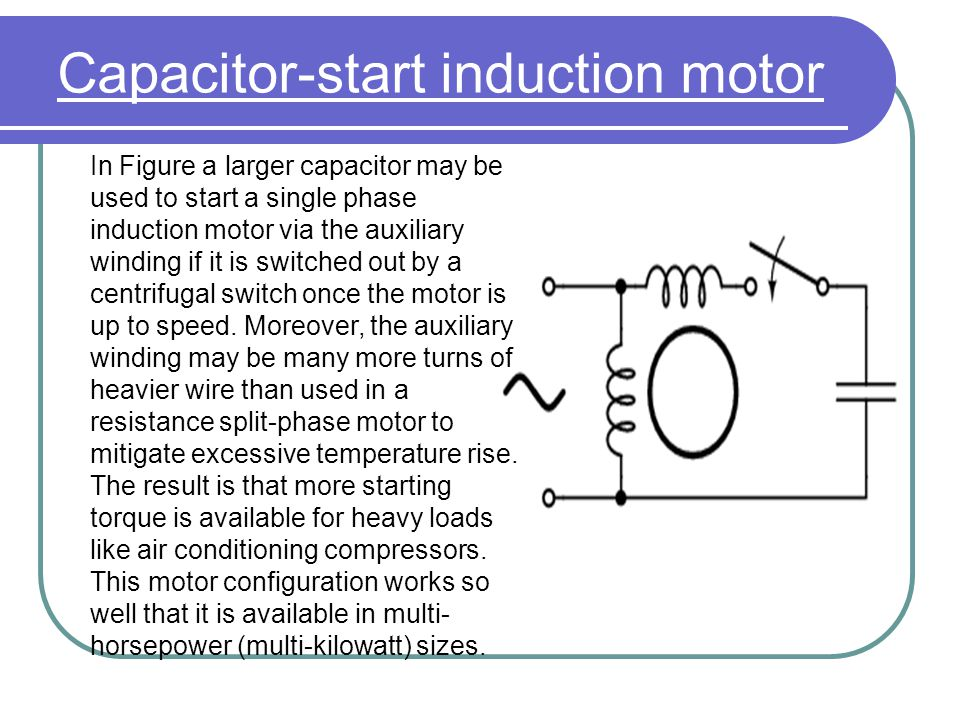 Single phase induction ppt video online download for How does a single phase motor work