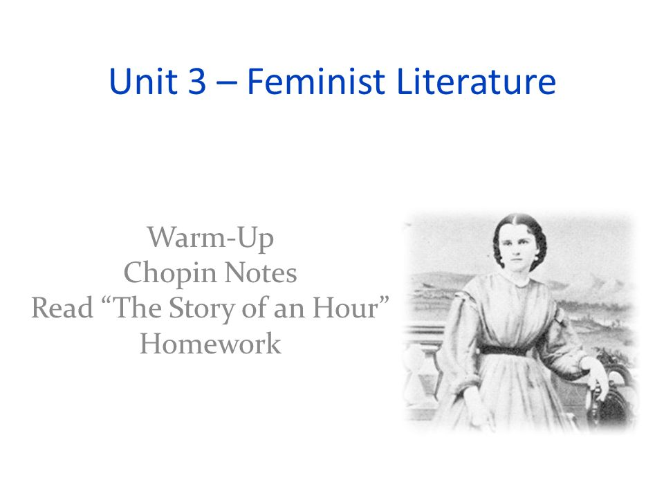 kate chopin story of an hour Home → sparknotes → short story study guides → the story of an hour the story of an hour kate chopin table of contents plot overview analysis structure.