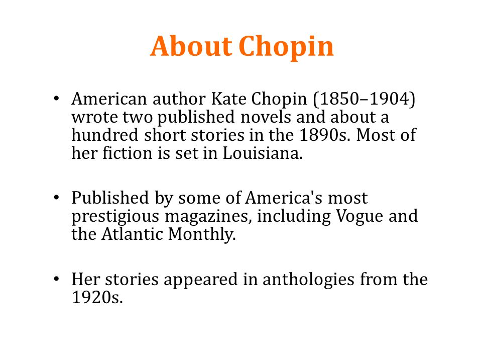 About Chopin