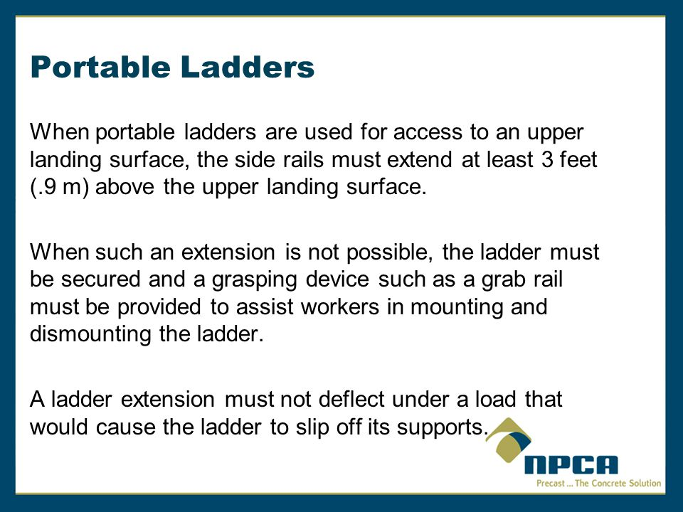 Portable Ladders